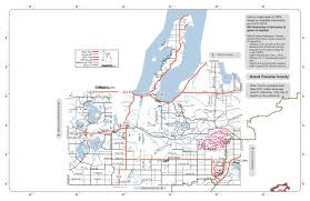 Michigan Trail Maps by Mi County Road Info Vvmapping Com