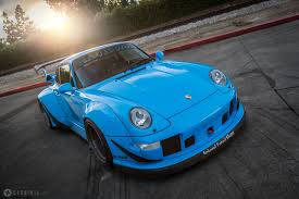 porsche rauh welt insane riviera blue porsche rwb 911 rare cars for sale