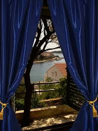 Royal Blue Curtains Blackout Taffeta Silk Curtain Royal Blue Taffeta Silk Blackout