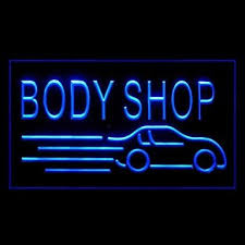 led lights for body shop buw car body shop advertising led light sign lighting direct cool