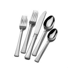 kitchen forks and knives amazon com mikasa bravo 20 stainless steel flatware set