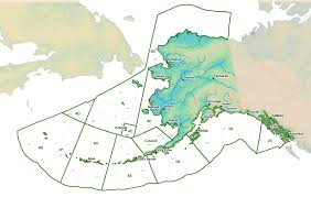 Alaska Map In Usa by Fisheries Figures Boundaries Regulatory Areas Efh And Critical