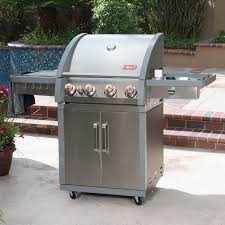 coleman xtr4 4 burner cart grill walmart com
