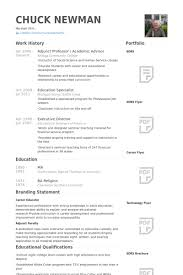 Service Advisor Resume Sample by Adjunct Professor Resume Samples Visualcv Resume Samples Database