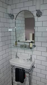 traditional bathroom mirror burlington bathrooms arched mirror with shelf bathroomand co uk