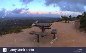 Alta Table A by Panoramic View Before Sunset From The Top Of The Hiking Trail At