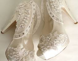 Wedding Shoes Ivory Ivory Wedding Shoes Etsy