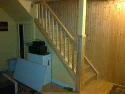 stair railing code fanciful installing basement stair railing