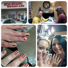 nailgating with covergirl u0026 blushing noir at the cleveland browns