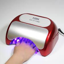 18k mini uv led nail lamp 36watt buy mini uv nail lamp 18k led