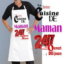 maman cuisine portez un tablier de cuisine rigolo vraiment original pour les mamans