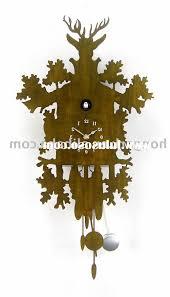 home design huge 3 foot black forest antique cuckoo clock circa