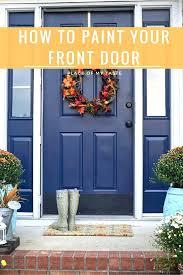 Exterior Metal Paint - front doors wonderful painting metal front door great