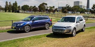 subaru suv outback ford territory ts diesel v subaru outback 2 0d premium