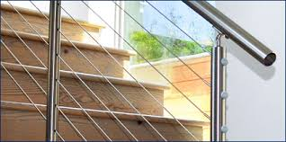 Stainless Steel Banister 316 Stainless Steel Cable Railing Handrail Extrusions Our