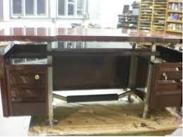 how to refinish a desk top modern furniture refinishing by european craftsmen olek inc