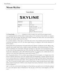 nissan skyline under 5000 nissan skyline electric vehicle manufacturers automobiles