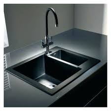 narrow kitchen sinks black stainless steel kitchen sink black stainless steel 8 pyramis