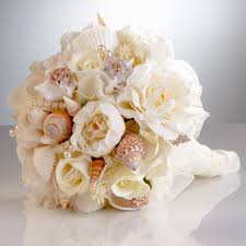 wedding bouquets with seashells the flower bouquet for any wedding unique flowers