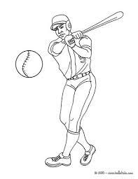 baseball batter coloring pages hellokids