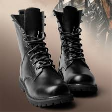 mens biker style boots amazon com duoduo men u0027s 2601 genuine leather combat boots