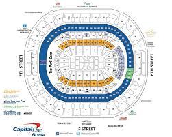 verizon center seating chart capitals brokeasshome com