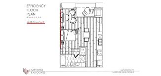 Efficiency Apartment Floor Plans Efficiency Apartments Lindholm Properties