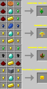 Enchanting Table Recipe Inventory Pets Animated Creatures That Live In Your Inventory And