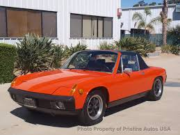 orange porsche convertible 1974 porsche 914 porsche 914 2 0 litre signal orange convertible