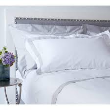 milano grey trim bed linen luxury bed linen
