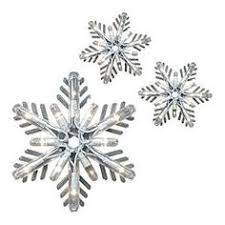 general electric sparkle snowflake icicle lights with 8 snowflakes