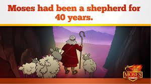 exodus 3 moses and the burning bush kids bible stories kids