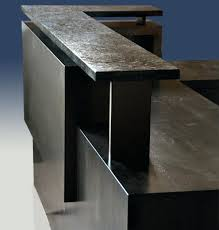 Reception Desk With Transaction Counter Metal Reception Desk Interque Co