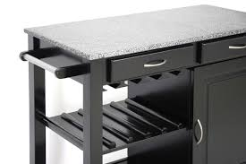 modern kitchen island cart modern kitchen island cart with granite top in black by baxton