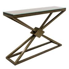 Metal Console Table Dstyle Contemporary Metal Console Tables
