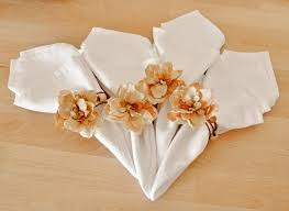 napkin holder ideas picture of creative napkin rings ideas as pretty wedding table