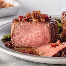 omaha steaks gift card filet mignon in a whiskey pan sauce with mushrooms and potato leek