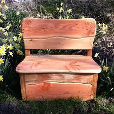 Garden Storage Bench Wooden Garden Storage Bench Free Range Designs Garden Furniture