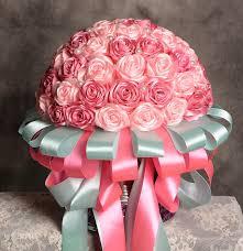 silk ribbon roses made 2017 bridal bouquets silk satin ribbon wedding