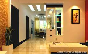 home interior arch design indian style living room and dining deperated by small wall arch