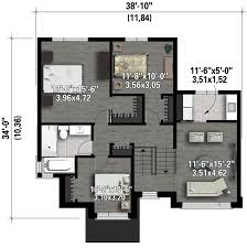 contemporary style house plan 3 beds 1 00 baths 1896 sq ft plan