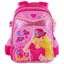 aliexpress buy barbie cartoon orthopedic primary bag