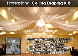 Chiffon Ceiling Draping The 25 Best Ceiling Draping Wedding Ideas On Pinterest Wedding