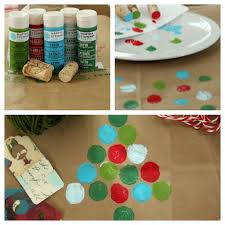 recycled brown bag gift wrap ideas at home on the bay navidad
