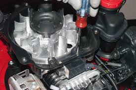 how to replace a lawn mower ignition coil on an ohv engine