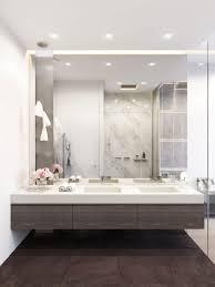 big bathroom mirror trend in real interiors u2013 home info