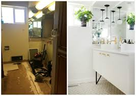 bathroom renovation completed