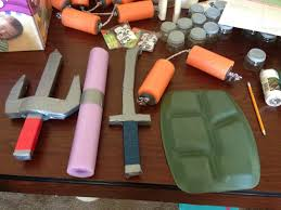 leonardo ninja turtle halloween costume tmnt weapons and turtle shells tmnt party pinterest tmnt