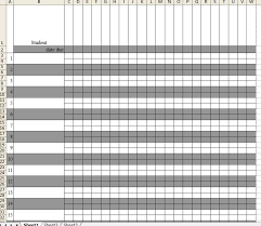 Grade Book Template Excel A Year Of Growth Gradebooks Updated
