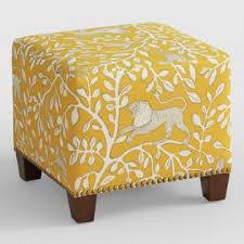folkland mckenzie upholstered ottoman world market